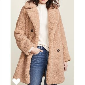 MKT Studio Madime Sherpa Coat sz 42